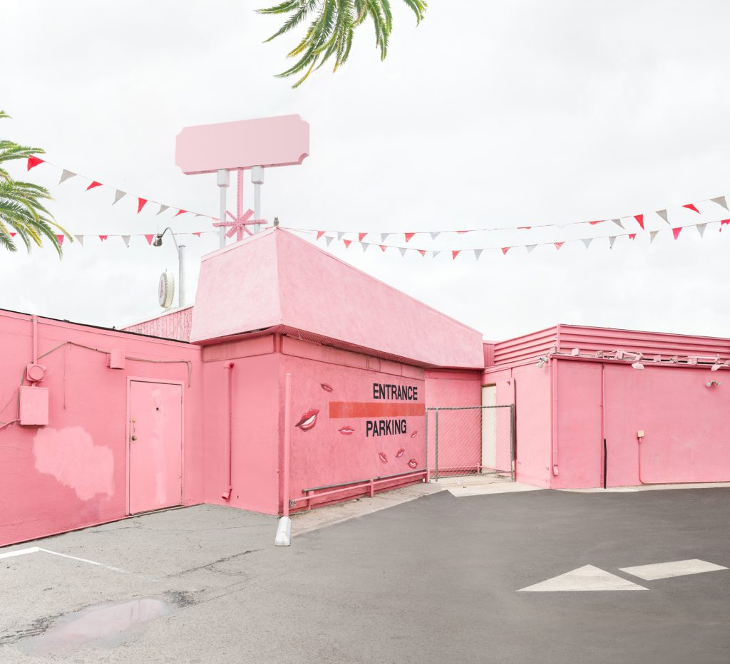 Leigh Merrill's photo Pink Corner sells for $2500 at Lilian Bloch Gallery in Dallas