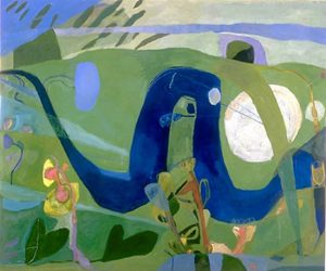 Searching for Fresh Water (1999), oil on canvas, 52 by 62 inches