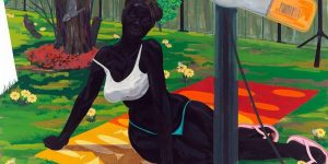 Kerry James Marshall Untitled (Beach Towel)