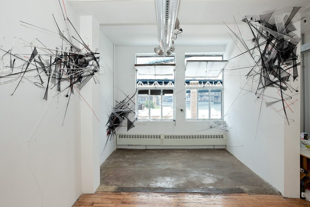 The Naked City (2011), mixed media, dimensions variable. Marie Walsh Sharpe Foundation, Brooklyn, NY