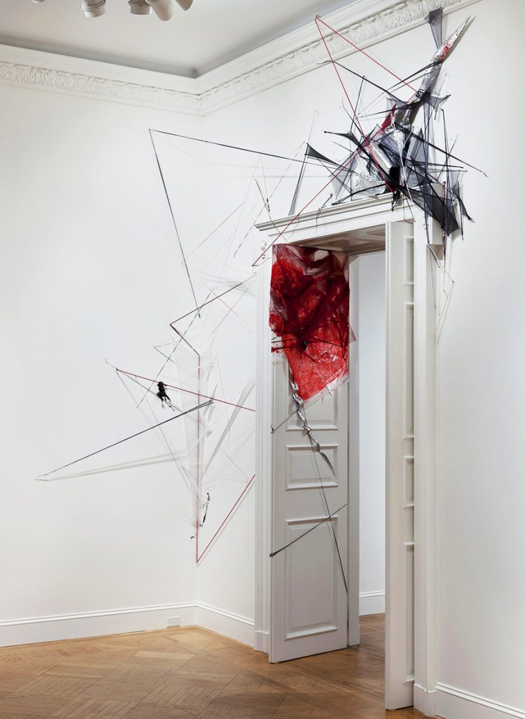 Where the Sidewalk Ends (2012), mixed media, dimensions variable. National Academy Museum, New York, NY.