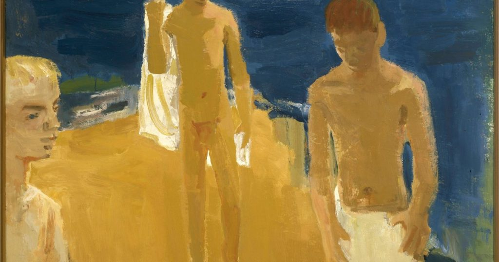 Bay area figurative artist David Park took an initial drubbing from the New York Times