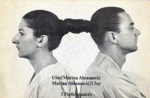 Abramovic and long-time partner Ulay
