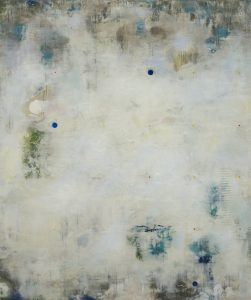 Dust Stories (2012), encaustic on panel, 60 by 50 inches