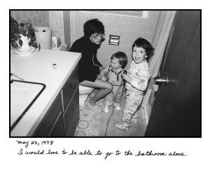 "From the ""Family"" series: Bathroom (1979)"
