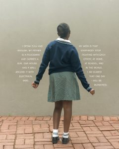 """Fourth Grade Project,"" South Africa, Be Murdered (2016)"
