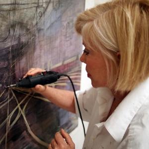 Karen Jilly at work