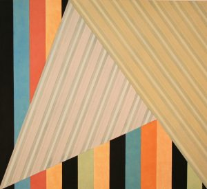 Homage to the Wedge #5 (2012), acrylic on canvas, 36 by 40 inches