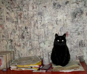 """""""If you insist on using me as a paper weight, then I'm going to have to ask for overtime,"""" says Annie Coe's Zoe."""