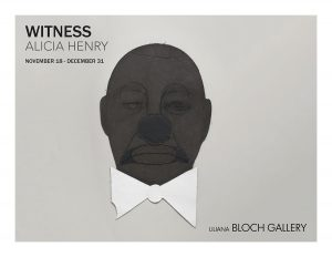 The catalogue cover for Alicia Harvey's solo at Liliana Bloch