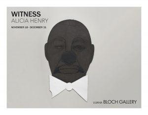 The catalogue cover for Alicia Harvey's solo at Liliana Bloch