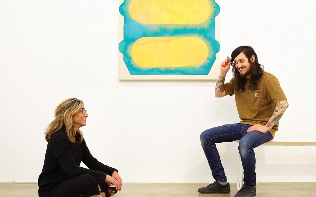 Liliana Bloch and Bret Slater