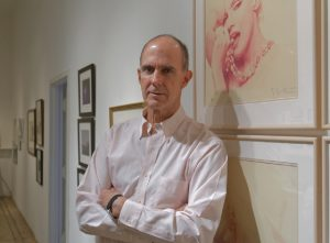Hal Bromm in his New York gallery
