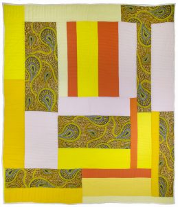 Dashiki (2003), cotton, 97 by 90 inches.