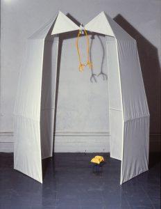 Teresina (1978), mixed media, 6 by 5.5. by 4 feet