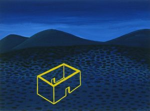 Untitled (2003), gouache on paper, 9 by 12 inches