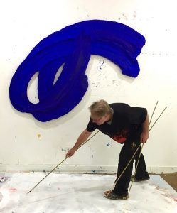 "Donald Martiny believes in making visitors ""comfortable but not too comfortable"""