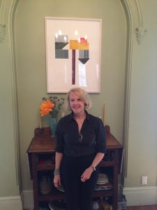Leslie Kerby in her Boerum Hill home