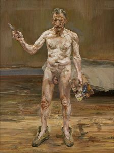 A late self-portrait by Lucian Freud