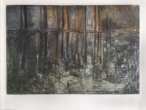 Carol Pelletier, On Reflection (1997), oil on linen, 66 by 44 inches