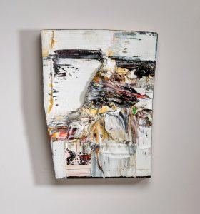 Cornelia Schulz, L11 (2016), oil on canvas, 12.75 by 10 inches