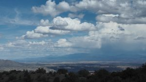 """A View of Santa Fe from the Ortiz Mountains"" (2017), still from 4K video"