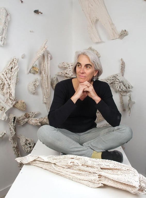 Martha Russo in her Boulder, CO, studio