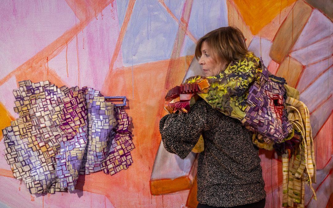 Margery Amdur Makes an Installation