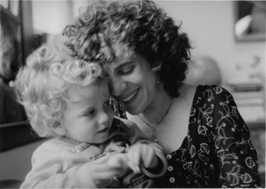 Melissa Stern with son and future collaborator, Max, age three