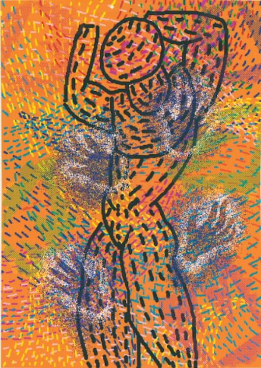 Barbara Nessim - Hand Memory (1986)